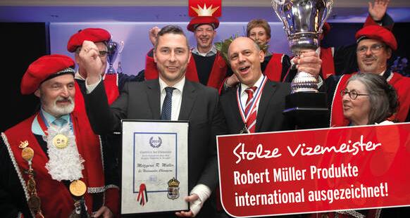International erfolgreich – Siegerpokal in Roermond