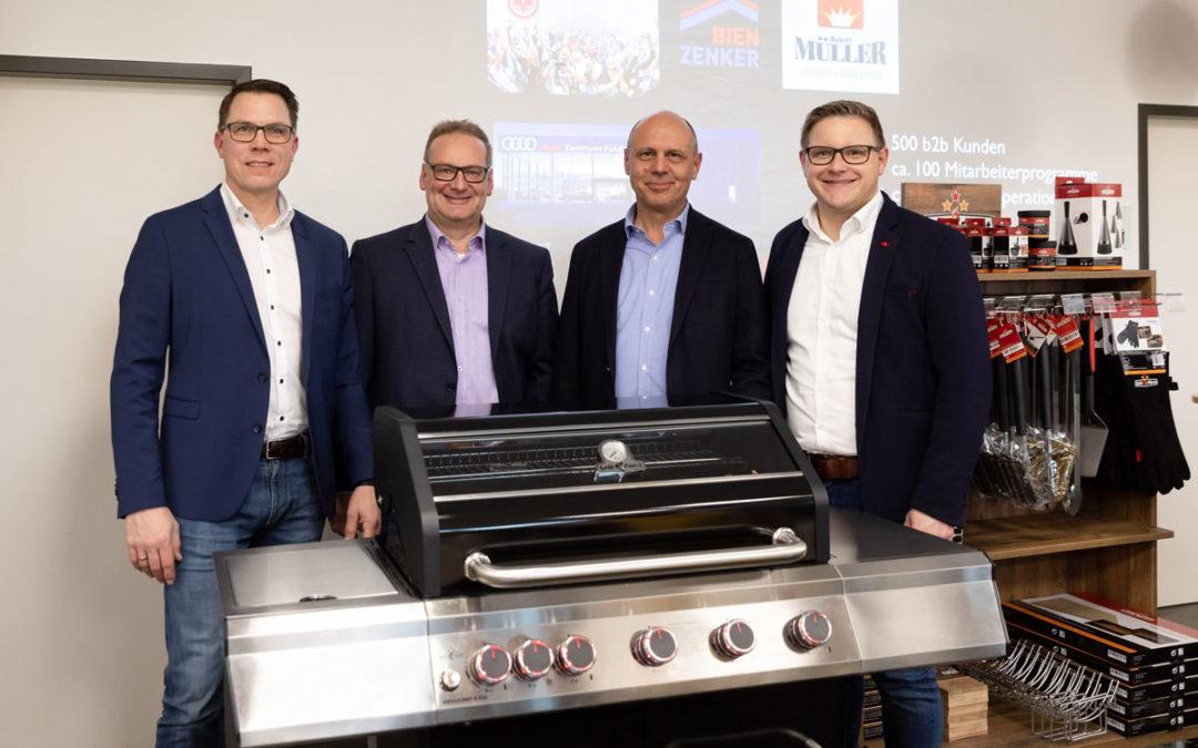 Grillfürst und Robert Müller: Zwei Marktführer starten umfangreiche Kooperation
