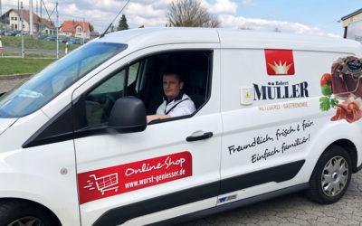Metzgerei Robert Müller beliefert alle, die zuhause bleiben müssen
