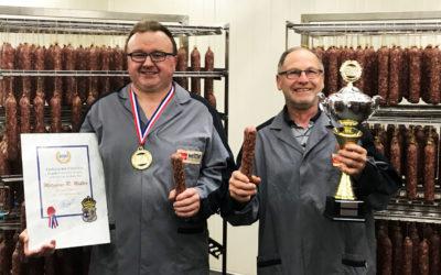 Goldregen für Metzgerei Robert Müller – internationale Auszeichnung