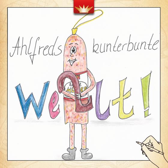 Ahlfreds kunterbunte Welt (Heft Nr. 2)